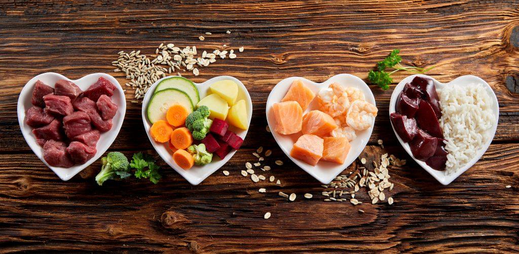 alimentação saudável porções