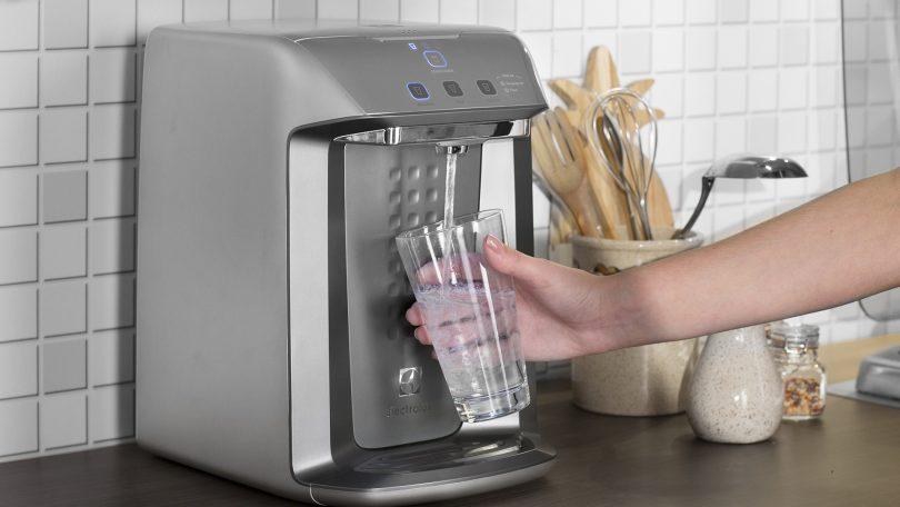 Agua com gosto ruim filtro