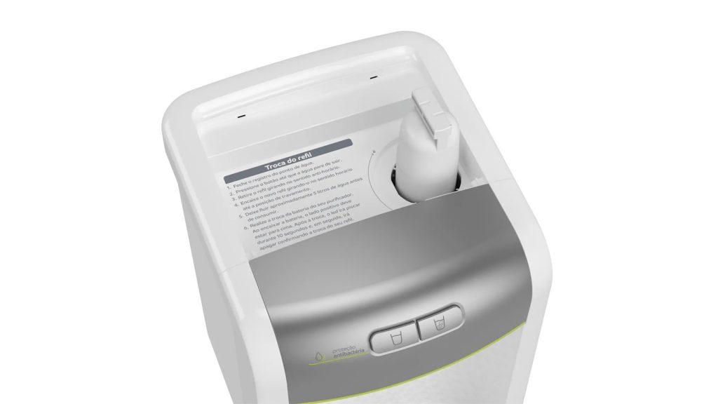 Elemento filtrante purificador de água
