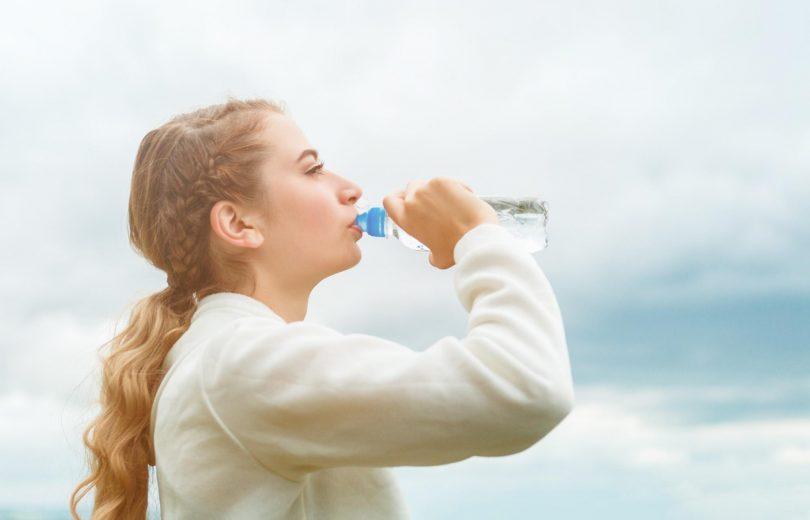 Capa aplicativo para beber água