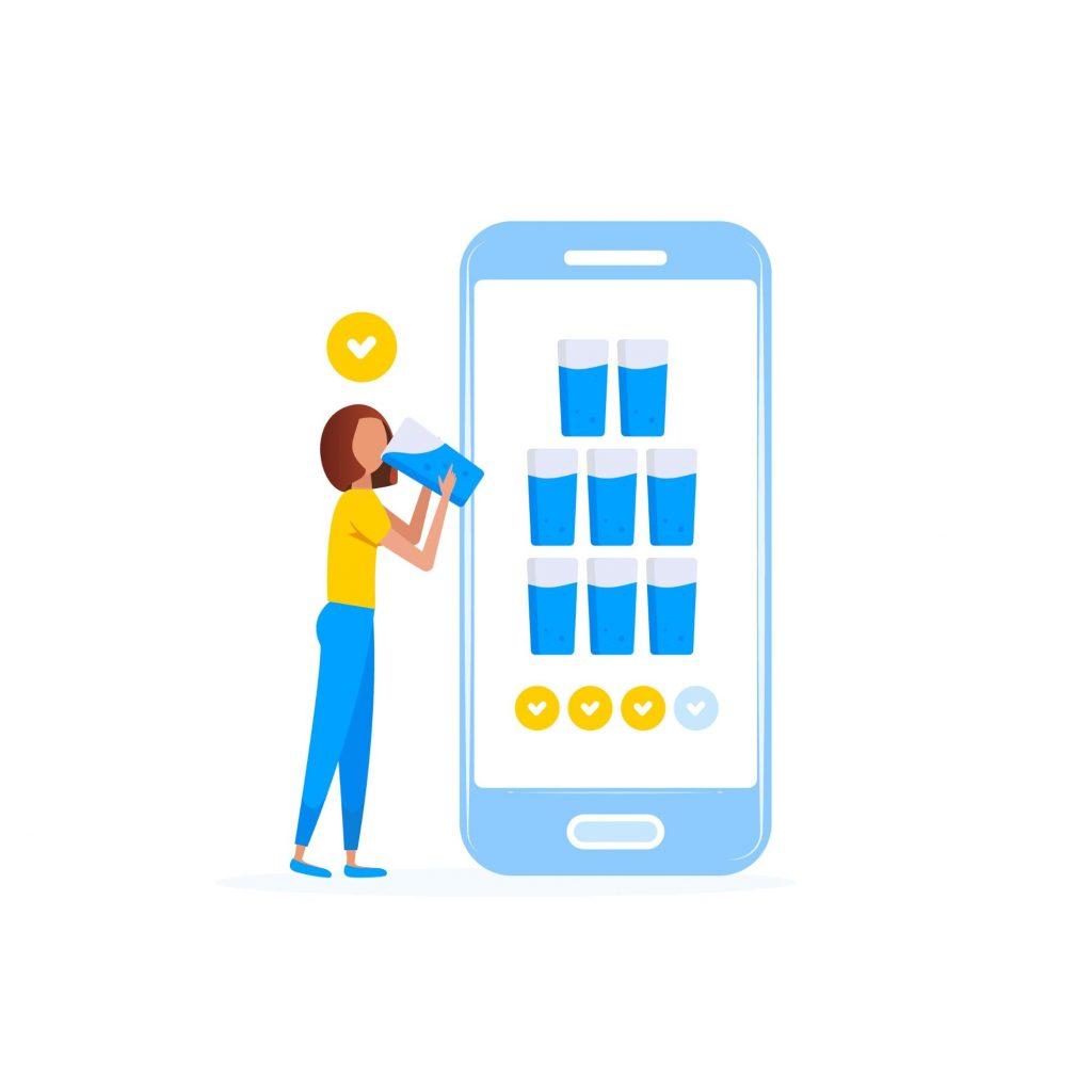 app para beber água