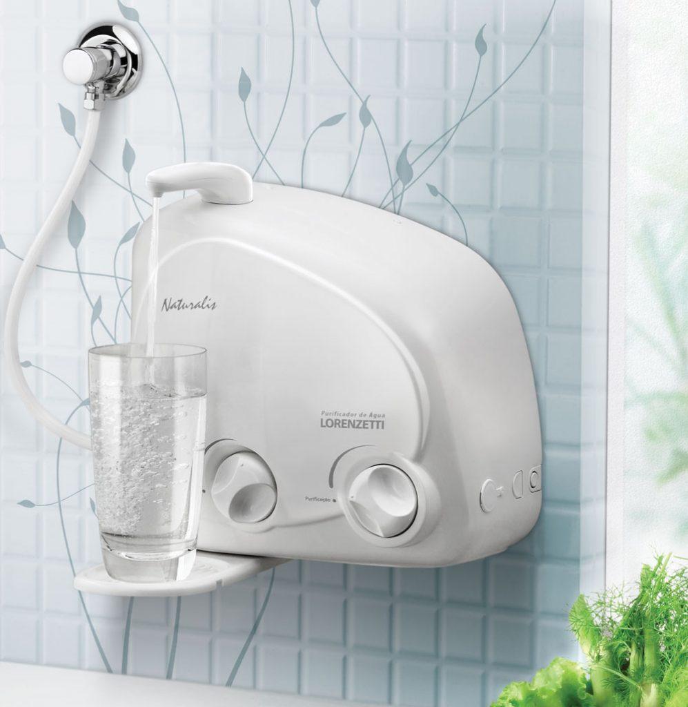 purificador de água de parede