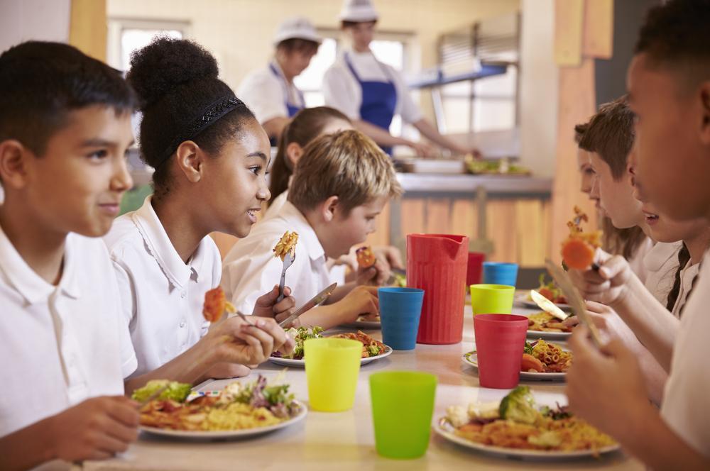 Pirâmide alimentar infantil na escola