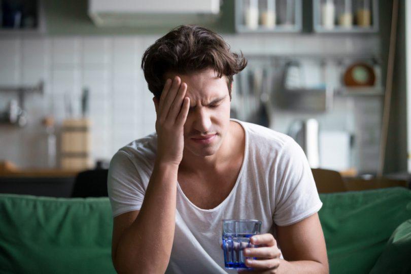 sintomas da desidratação