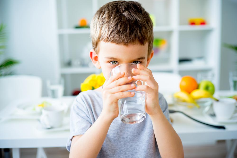 desidratação infantil