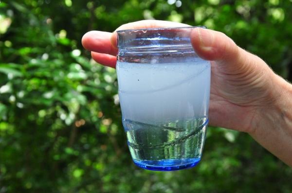 cloro em excesso na agua